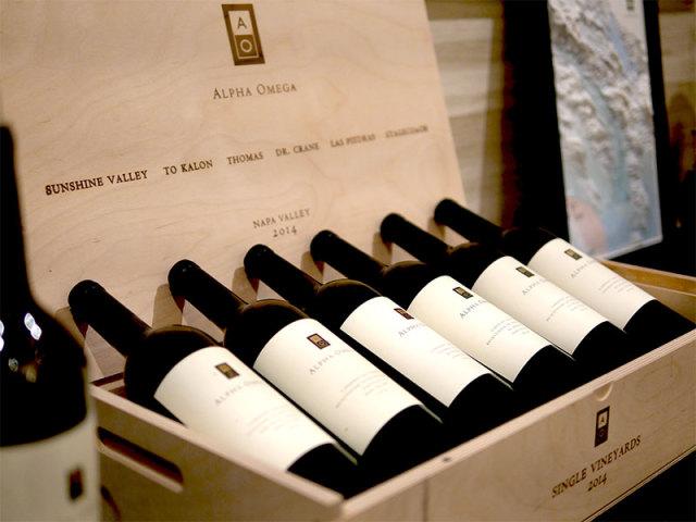 アルファオメガのワイン